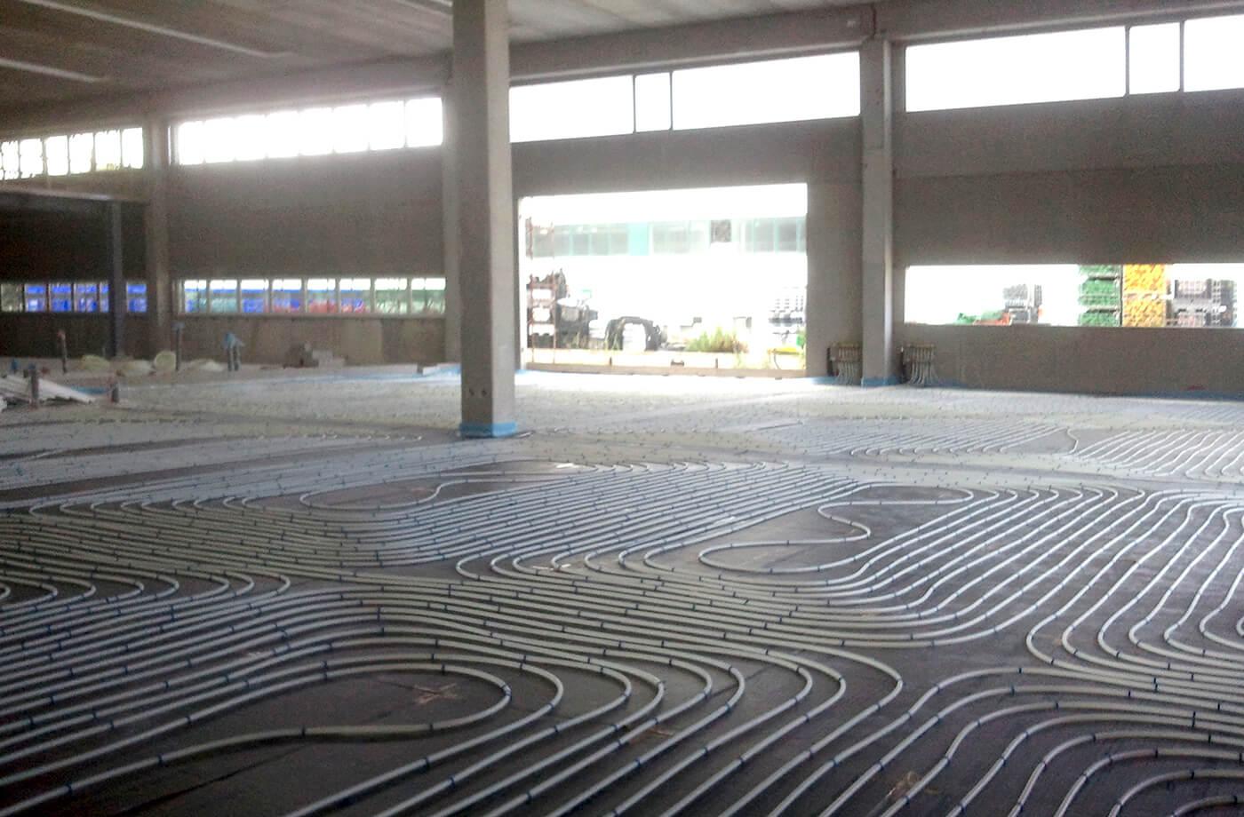 riscaldamento a pavimento - impresa