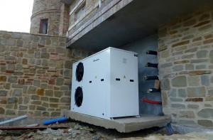 impianto trattamento aria - villa privata