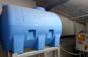 impianto recupero acqua - impresa