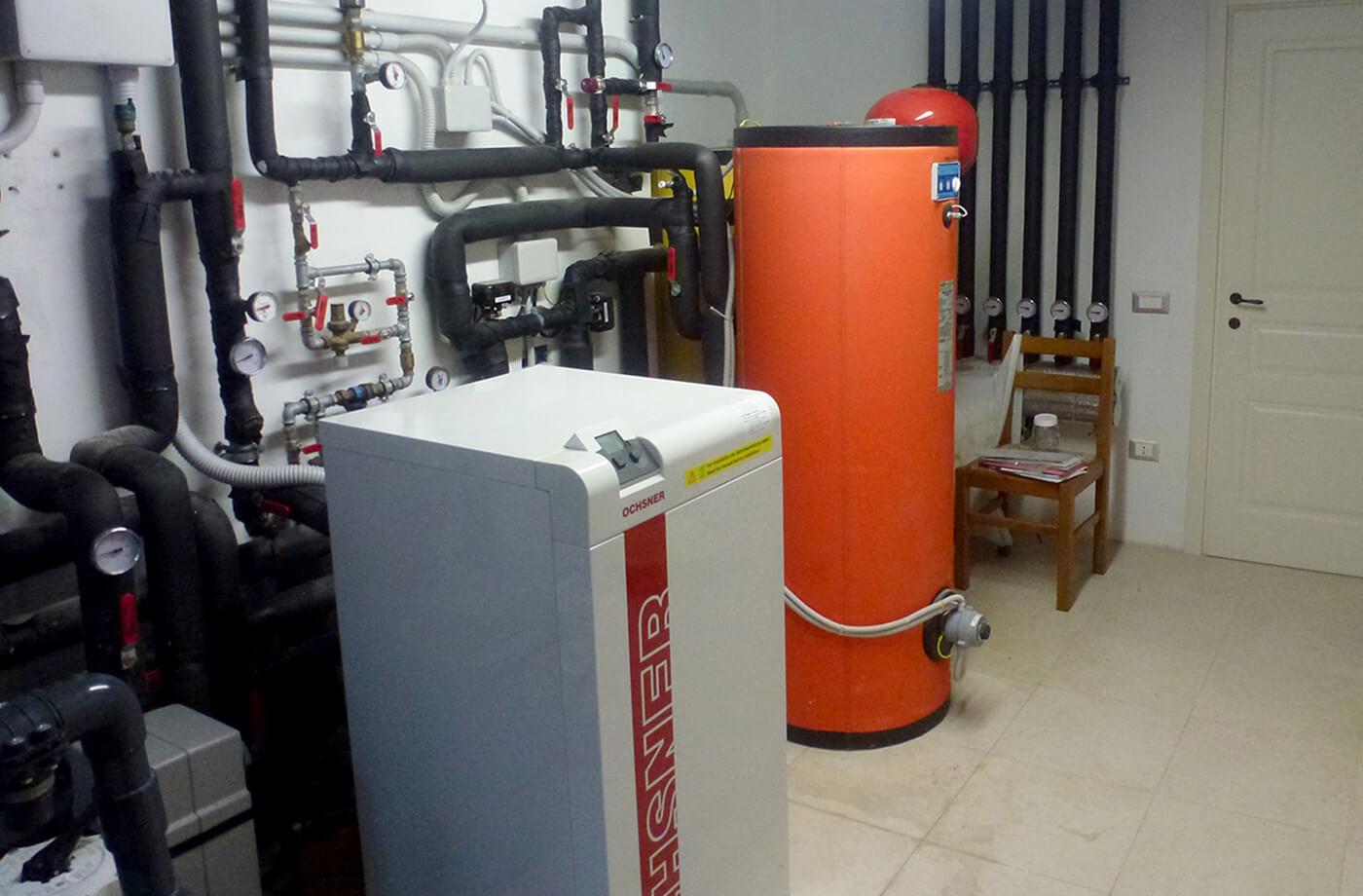 impianto termico - villa privata
