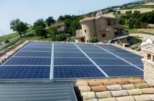 impianto solare - villa privata