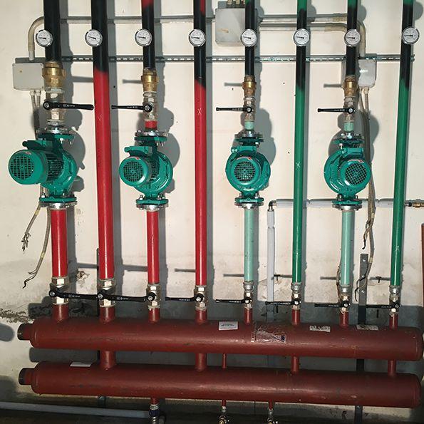 impianto termico - impianti sportivi Orciano